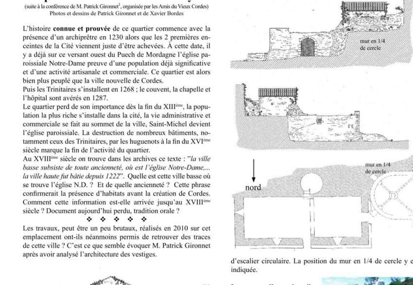 Bulletin N° 8 - Le quartier Notre-Dame de la Vaysse