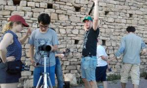 Tournage Le fils de la brodeuse - Equipe de tournage