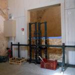 Grosses pièces métier à broder dans musée Charles Portal (3)