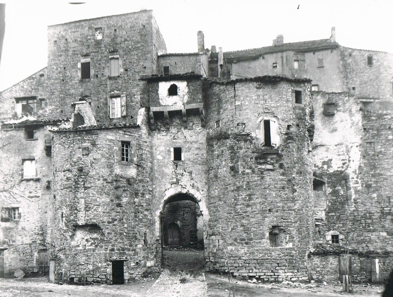Cordes sur Ciel - Porte de la Jane environ 1900