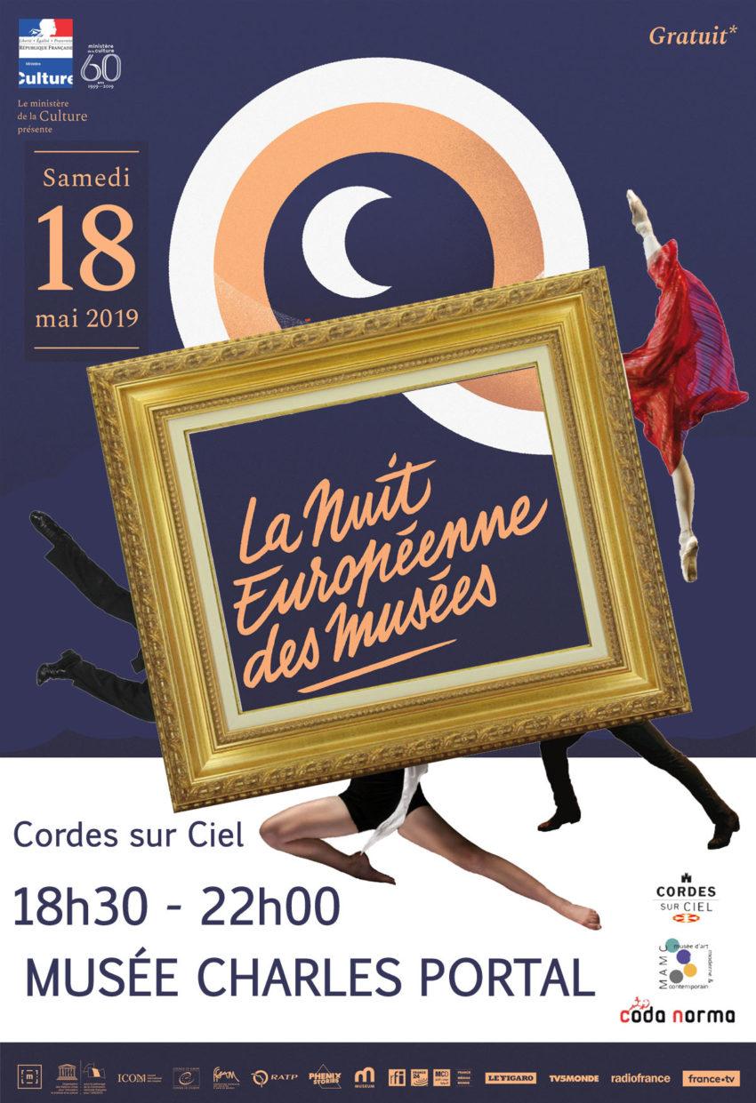 Samedi 18 mai 2019 - Nuit des musées au musée Charles Portal