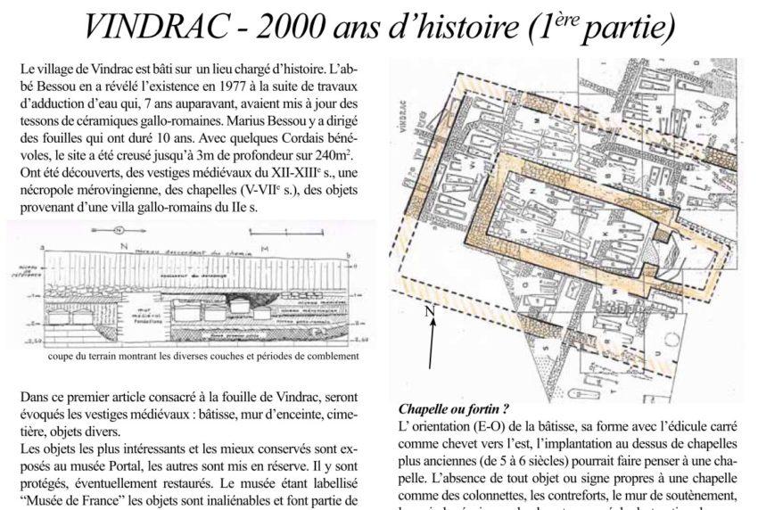 Bulletin N° 11 - Vindrac 1ère partie