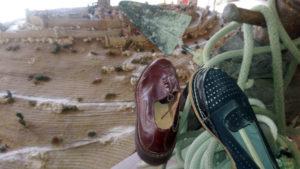 Chaussures devant Cordes