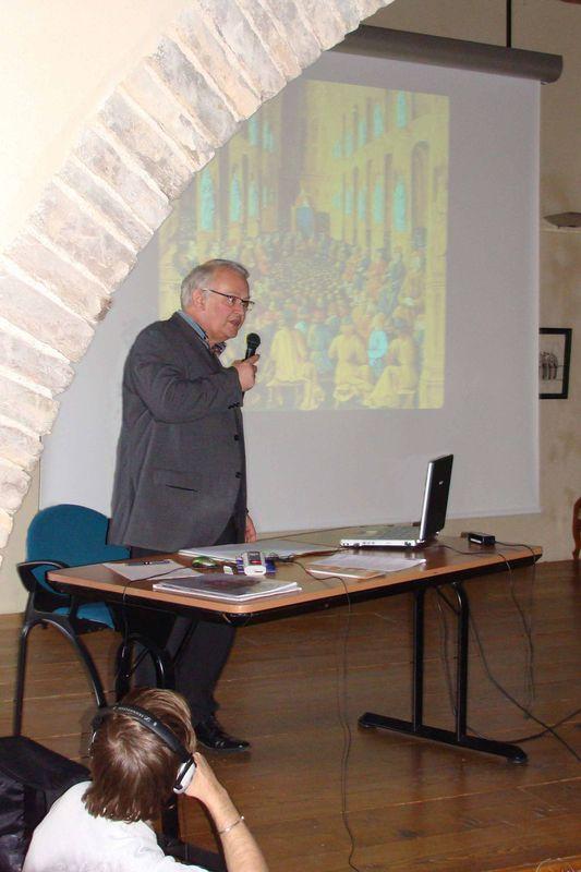 Jacques Miquel - Conférence sur les Hospitaliers dans le Tarn