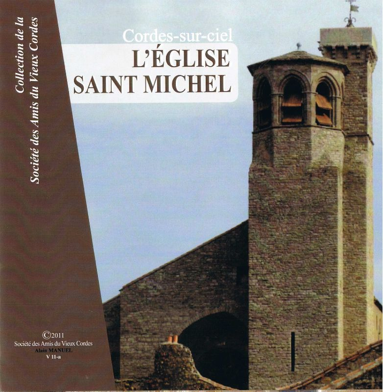 L'église Saint Michel de Cordes - Couverture