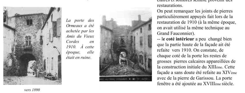 Bulletin semestriel - La Porte des Ormeaux 2