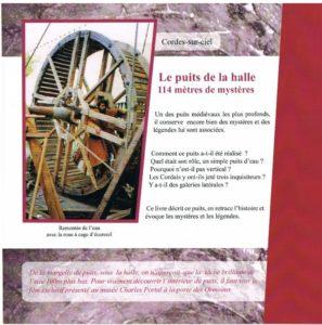 Le puits de la Halle de Cordes - Extrait