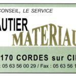 Logo Gautier Matériaux - Cordes sur Ciel