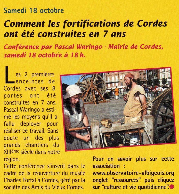 Revue du Pays de l'Albigeois et des Bastides - 2008