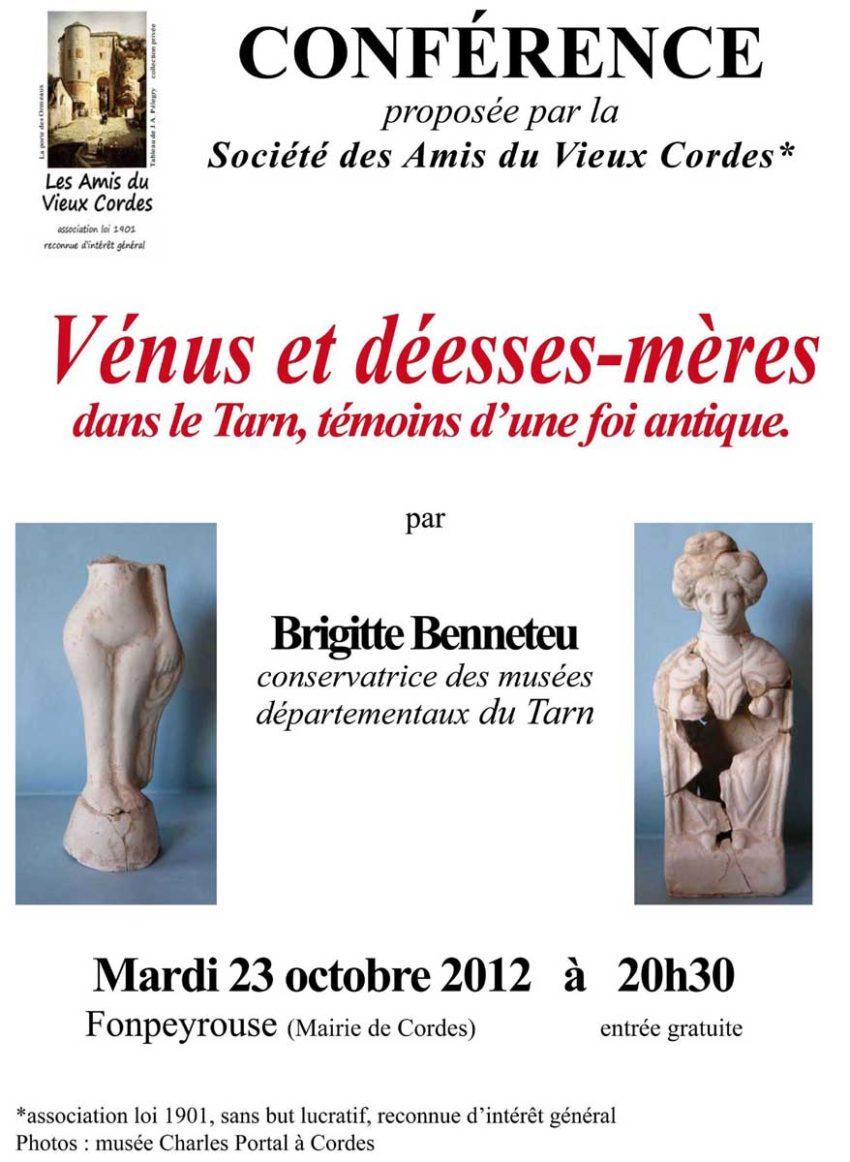 Vénus et déesses mères dans le Tarn