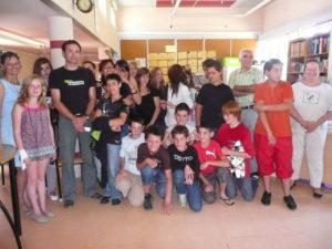 Les élèves de 5ème du collège Val-Cérou attendent les résultats du concours Charles Portal