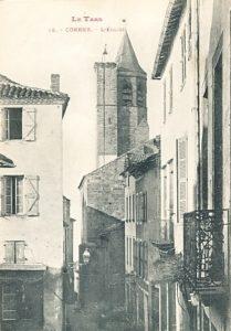 Clocher de St Michel de Cordes
