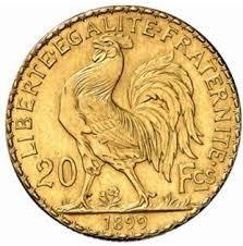 piece de monnaie 20 francs