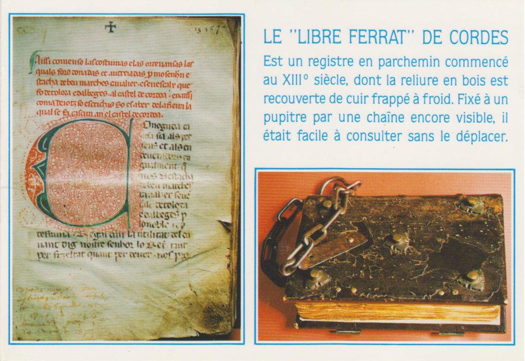 Carte postale Libre Ferrat - Pierre BLANC