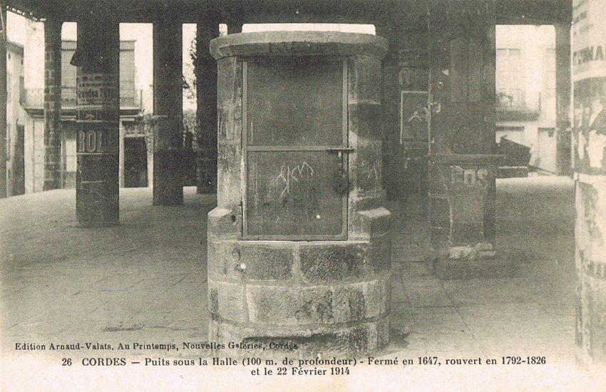 Le puits de la Halle de Cordes sur Ciel