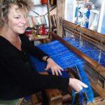 Lisa MINARD, tisserande à Cordes